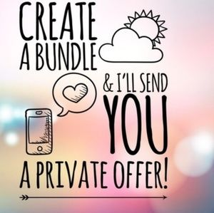 The more you Bundle the more you Save!!